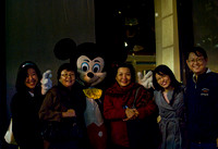 mummy insisted we take a photo with mickey haha